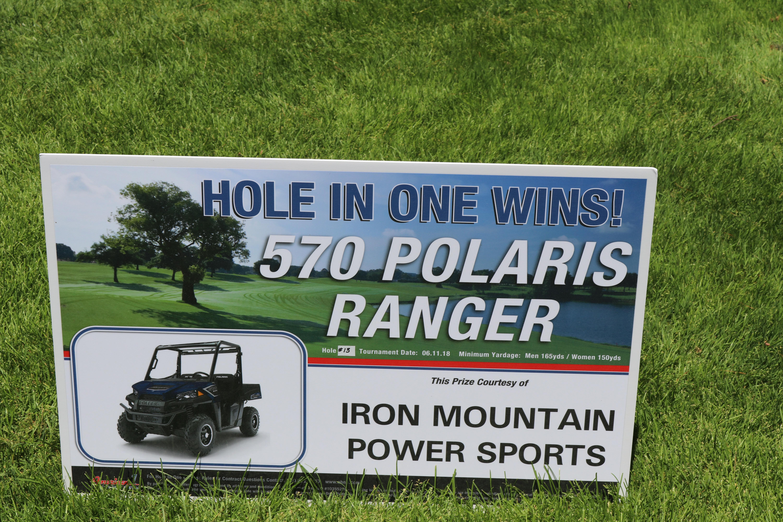 Signage Iron Mountain Power Sports