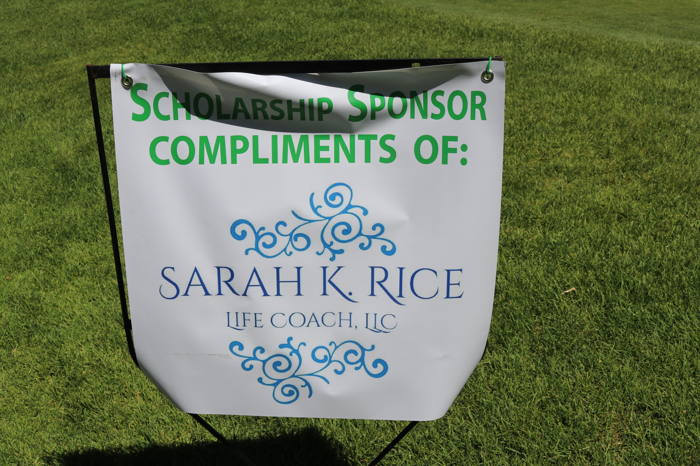 Signage Sarah K Rice